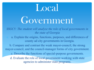 Local Government - Paulding County Schools