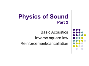Physics of Sound Part 2
