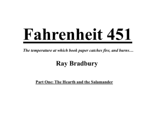 Fahrenheit 451 study questions and answers - part 1