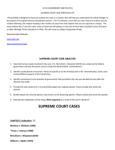 Supreme Court Case Portfolio lite