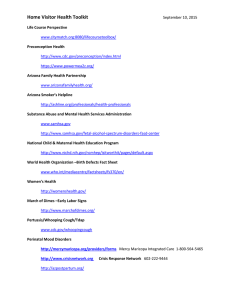 C63 – HV Health Toolkit Web Links