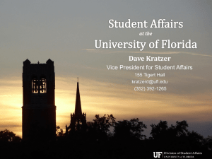 The - University of Florida Student Affairs