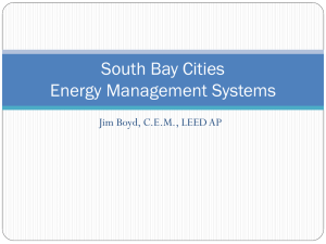 South Bay Cities Energy Management Systems