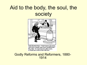 Aid to the body, the soul, the society