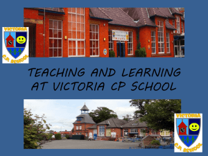 teaching-and-learning-evening - Victoria Community Primary School
