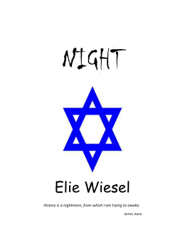 night by elie wiesel man vs self conflicts { word box: conflict, man vs society, man vs nature, man vs man, man vs self} a struggle between opposing forc get the answers you need, now 1  another concentration camp excerpt from night by elie wiesel and then, there we were, right out in the country on the answer english 5 points 10 hours ago.