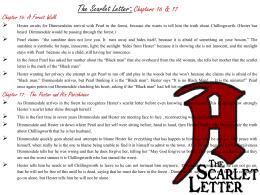 scarlet letter worksheet 20 24. Black Bedroom Furniture Sets. Home Design Ideas