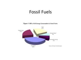 Fossil Fuels - MrsBlanksLCN
