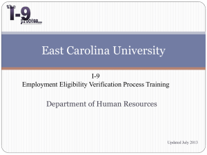 Verifier - East Carolina University