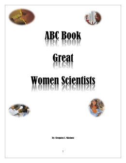 ABC Book of Great Women Scientists