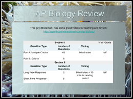 biology study guide chapter 38 Presentation on theme: chapter 38 conservation biology  geothermal solar- photovoltaic renewable transportation fuels questions: before reading the.