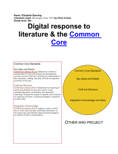 Common Core NL - TED707