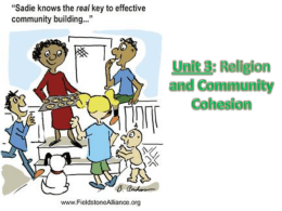 Lesson 14 – End of unit review_Community Cohesion_2012