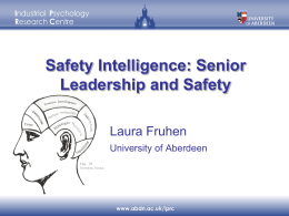 Presentation Safety Intelligence_HF Conference November