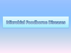 Microbial Foodborne Diseases