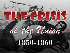 The Crisis of the Union