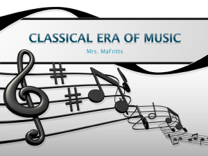 In Classical music, there is a flexibility of rhythm.