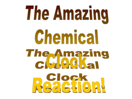 The Clock Reaction