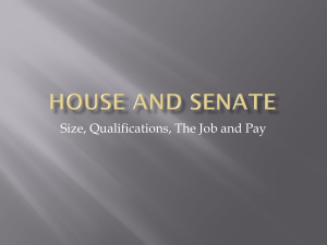 House and Senate