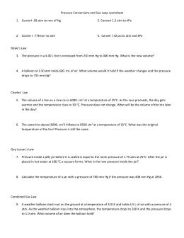 worksheet mixed gas law worksheet. Black Bedroom Furniture Sets. Home Design Ideas
