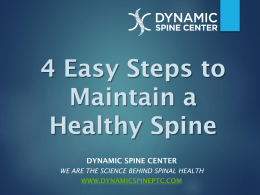 Spine Powerpoint