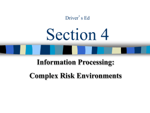 drivers ed module 7 topic 5 and 6