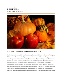 2007 summer newsletter texas association of cardiovascular and