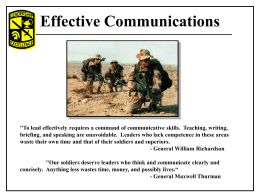 the army writing program