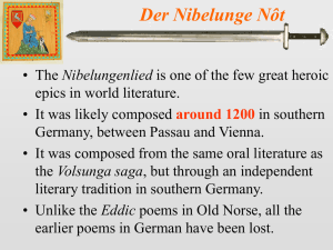 The Nibelungenlied 1