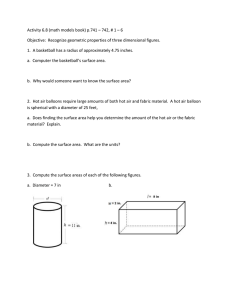 Activity 6.8 (math models book) p.741 – 742, # 1 – 6 Objective
