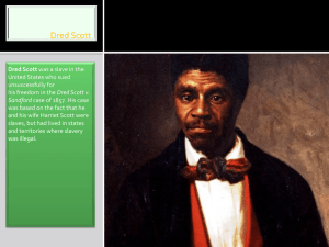 Dred Scott v Sanford