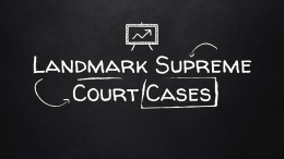 3 landmark supreme court cases research Analyze the significance and outcomes of landmark supreme court cases including, but not limited to, marbury v madison, plessy v ferguson, brown v.