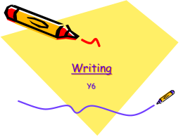 Writing - Primary Resources