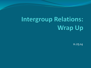 IGR Wrap-Up & Negotiation, 11/25
