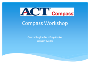 January 7, 2015 - Central Region Tech Prep