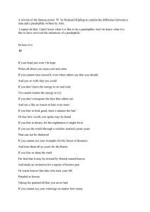 IF poem rewritten by a male survivor who attended our