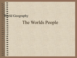 The Worlds People