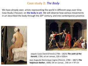 Case study 2: The Body - General Education @ Gymea
