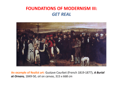 foundations of modernism iii
