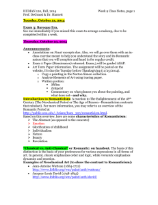 HUMAN 120, Fall, 2014 Week 9 Class Notes, page Prof. DeGrassi
