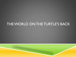 The World on the Turtles Back Questions2