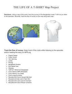 Life of a T-shirt Worksheet - FamilyConsumerSciences.com