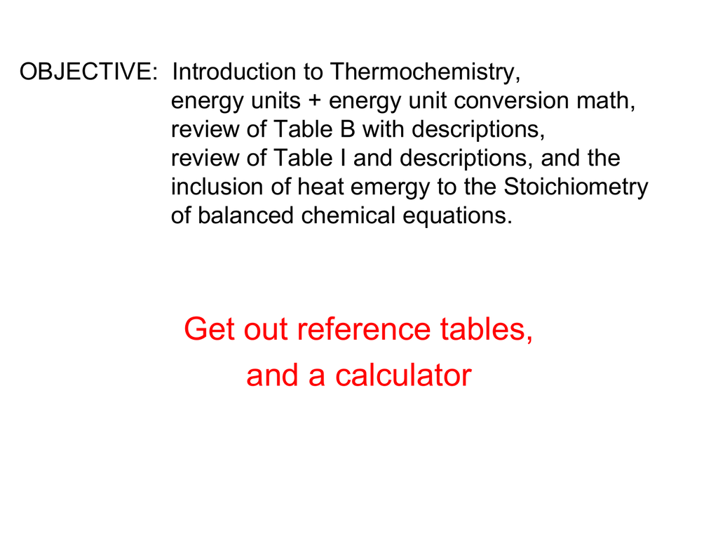 Thermochem Slideshow