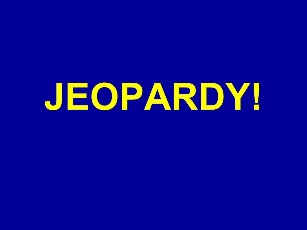slope intercept form jeopardy  jeopardy!