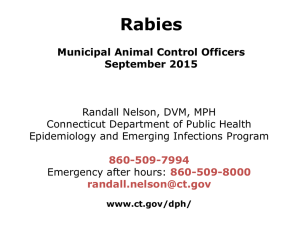 - CT Municipal Animal Control Officers' Association