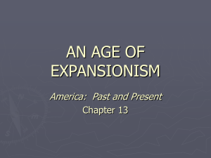 chapter 12 an age of expansionism