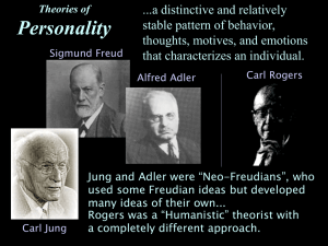 Theories of Personality - psych.fullerton.edu.