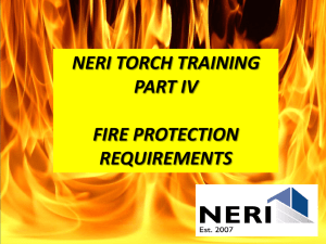 Fire Protection Requirements