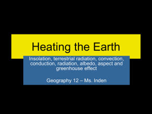 Heating the Earth