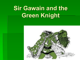 analysis of sir gawain and the green knight Sites about sir gawain and the green knight by anonymous (british: pre-1500) sir gawain goes on a quest to fight a man he had already beheaded along the way, he is visits sir bercilak and is tempted by bercilak's wife.